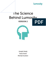 The Science Behind Lumosity v2.2