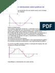 Exercícios de Vestibulares Sobre Gráficos Do MUV