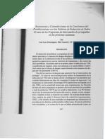 Resistencias y contradicciones en la convivencia del prohibicionismo con las políticas de reducción de daños