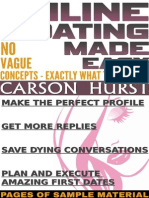 Online Dating Made Easy No Vague Concepts - Exactly What to Say and Do