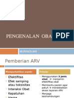 PENGENALAN OBAT ARV