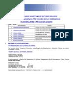 Informe Diario Onemi Magallanes 20.10.2015