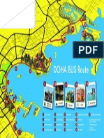 Doha Bus Map