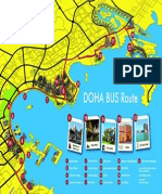 Doha Bus Map