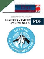 Papeles Unidad Didactica Educacion Por La Paz Maniobras Otan Barbate