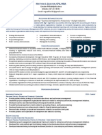 CFO Strategy Finance Governance in Philadelphia PA Resume Matthew Gualtieri