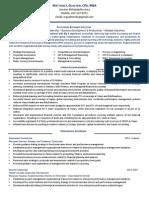 CFO Strategy Finance Governance in Philadelphia PA Resume Matthew Gualtieri