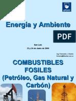 Energia y Ambiente combustibles fosiles
