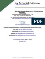 Philosophy Social Criticism 2006 Vitale 739 66