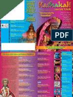 Kathakali Tour KathakaliLeaflet A4 Folded DRAFT