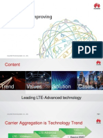 Huawei LTE TDD CA Solution Overview