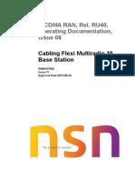 Cabling Flexi Multiradio 10 Base Station