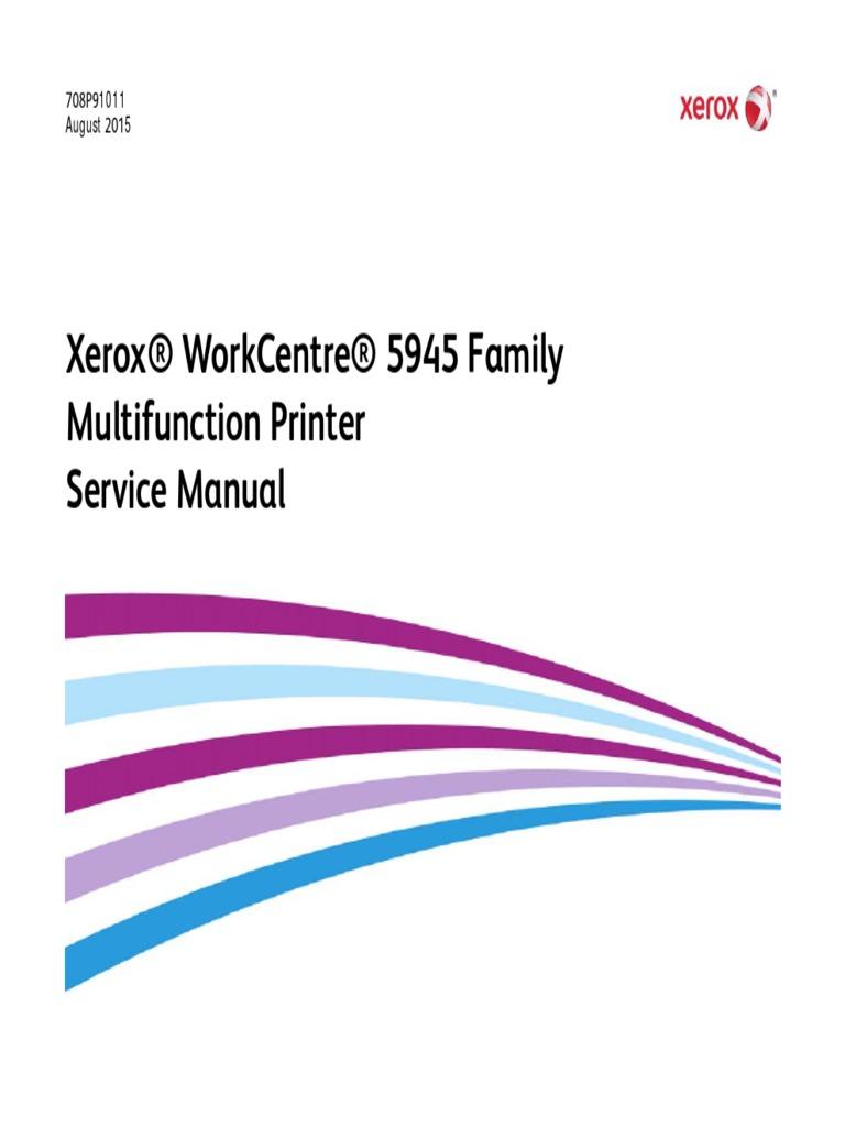 wc5945f service manual xerox electrostatic discharge engineering rh scribd com Xerox WorkCentre 6605 Xerox WorkCentre 7845