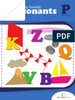 Beginning Sounds Consonants Workbook