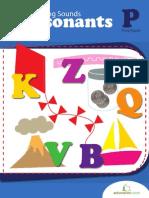 Beginning Sounds Consonants Workbook