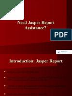 Offshore Jasper Reports developers