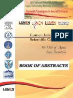 Book of Abstracts LUMEN 2013 - Editura Lumen (1)