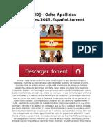 ~ [HD]~ Ocho Apellidos Catalanes.2015.Español.torrent