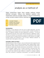Concept Analysis Intro