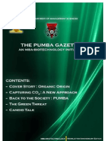 The PUMBA Gazette (Anniversary Edition)