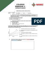 Examen Fisica Bimestre 1 SECUNADARIA 2015