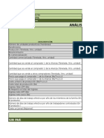 Hoja de Cálculo Flujo de Fondos Agricultura Vf-3