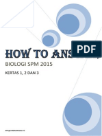 2015 How to Answer Biologi