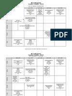 Semester1 Timetable