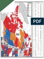 New Electoral Map of Canada