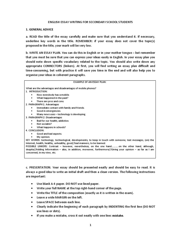 English Essay Writing | English Language | Reading Comprehension