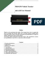 Gps103ab User Manual