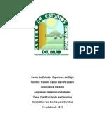 Clasificación de Las Garantías Individuales.