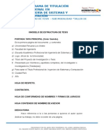 Estructura - Formato Tesis 2014-4