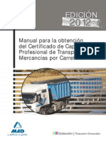 Manual Para La Obtencion Del Cap Trasporte de Mercancias Por Carretera