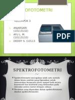 Spektrofotometri Visible