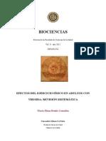 Efectos Del Ejercicio Fisico en Adultos Con Vihsida Revision Sistematica