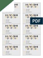 hayashiparadoxbusinesscard
