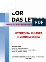 Revista - A Cor Das Letras, n. 12, 2011 v. Site End