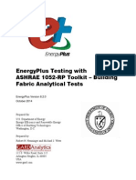 Energyplus Ashrae 1052rp Envelope