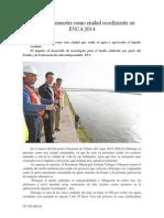 07.05.2014 Comunicado Durango Se Muestra Como Ciudad Ecoeficiente en ENCA 2014