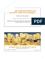 GFMS Gold Survey Powerpoint
