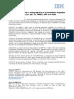 Nota de Prensa Sypsoft e IBM VFinal