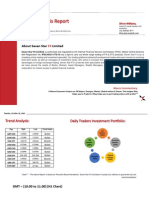 Daily Technical Analysis Report  20/October/2015