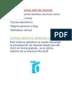 Libros Servicios de Internet