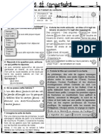 Fiches Francais CE1