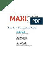 AutoCAD - Linhas Sobre Pontos