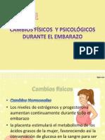 Cambios Físicos y Psicológicos Durante El Embarazo