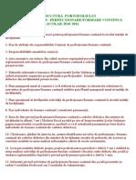 Structura Portofoliului Comisiei Pentru Perfectionare