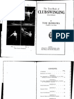 The Textbook of Club Swinging - Tom Burrows