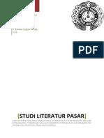 Studi Literatur Pasar